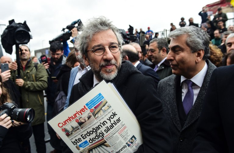 Turkish journalists on trial on anniversary of press freedom in Turkey