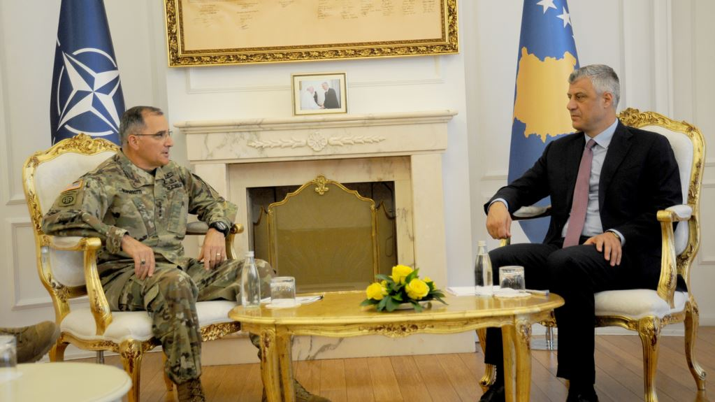 Thaci: Nato's role in Kosovo is irreplaceable