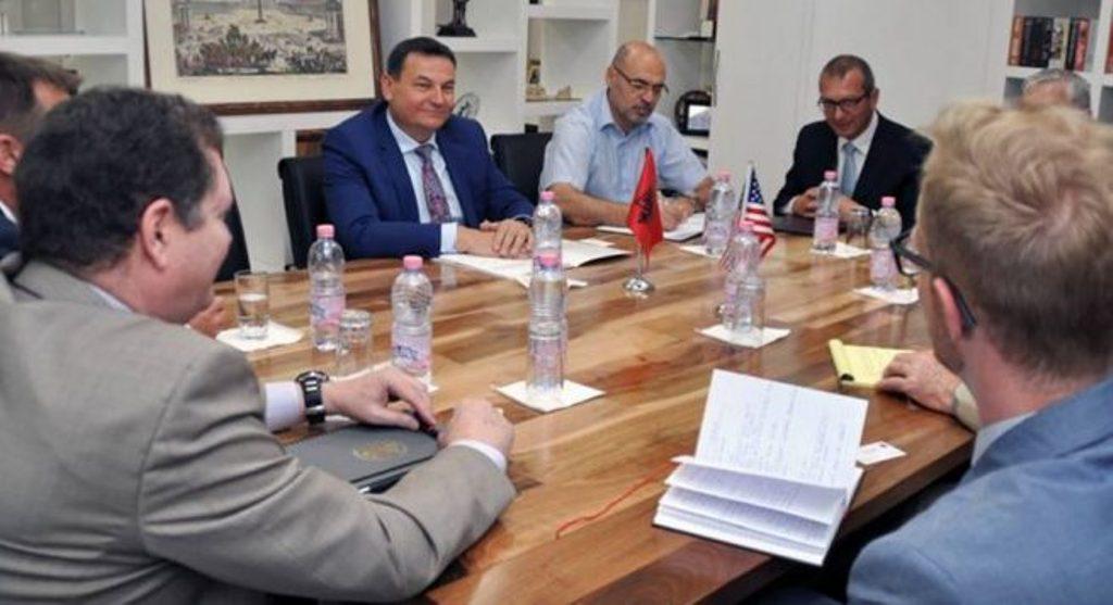 US anti-terrorism officials dislocate in Tirana