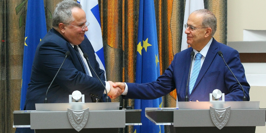 Kasoulides – Kotzias discuss the next day on the Cyprus issue