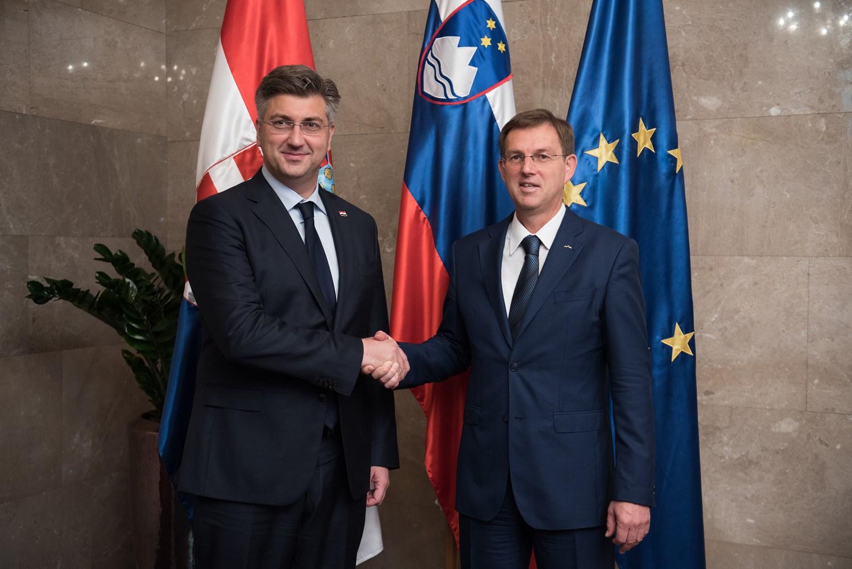 Cerar, Plenković remain on opposite banks on border arbitration