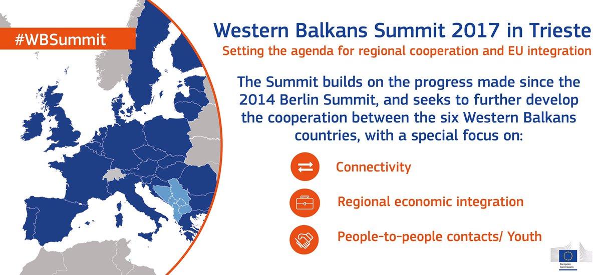 Western Balkans Summit takes place in Trieste