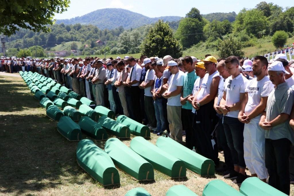 Srebrenica marks genocide anniversary
