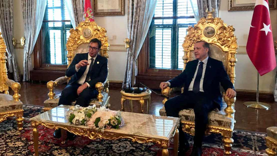 Erdogan very welcomed to Serbia, Vucic says