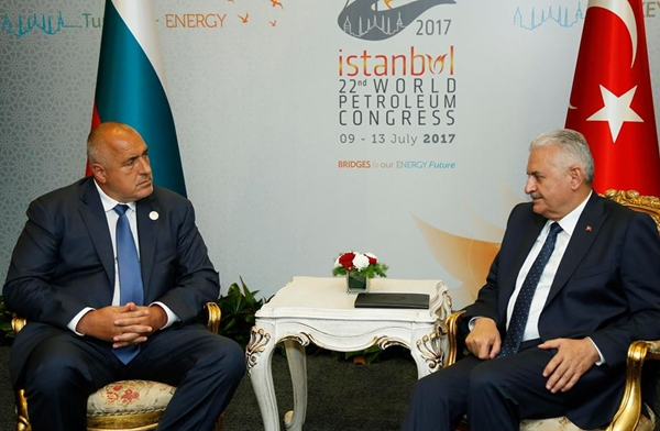 In Istanbul, Bulgarian PM Borissov talks energy issues with Turkish, Russian top officials