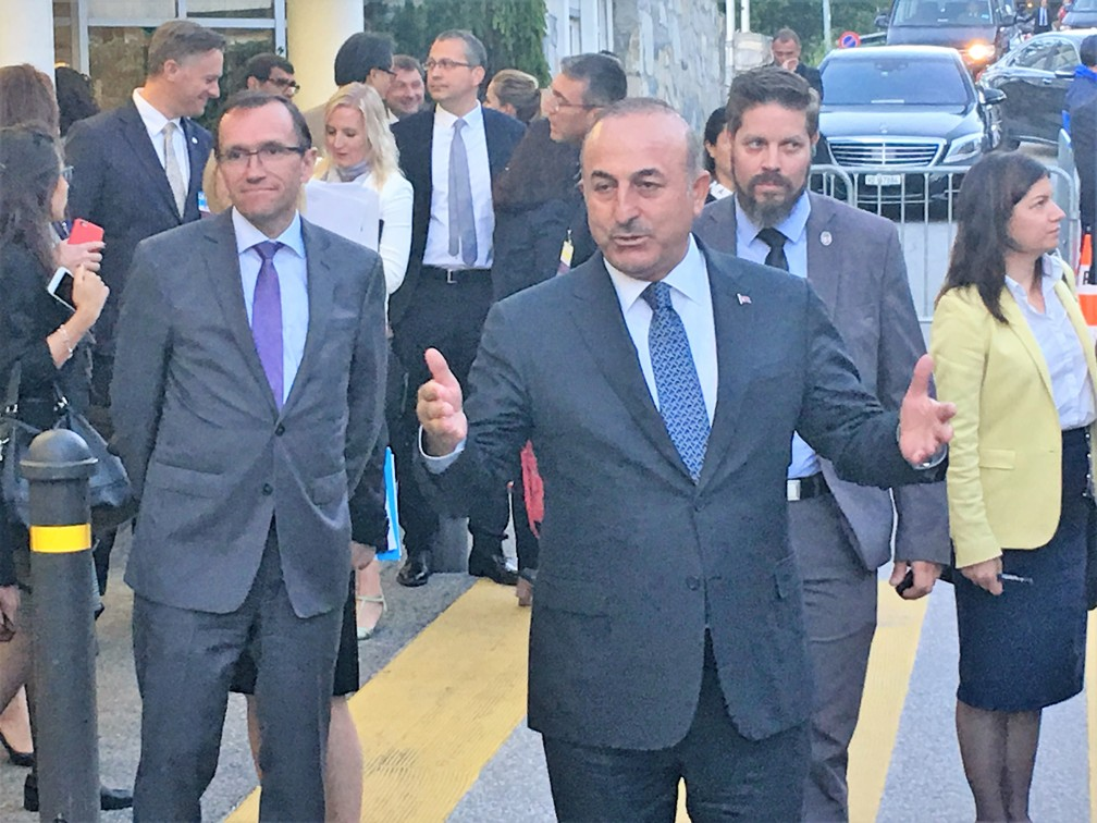 Cavusoglu: We will continue efforts for a Cyprus Solution with different parameters