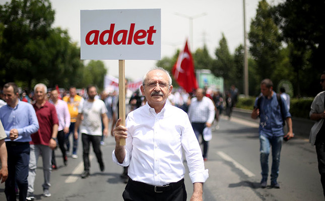 Main opposition CHP hopes justice march to Istanbul will be completed peacefully