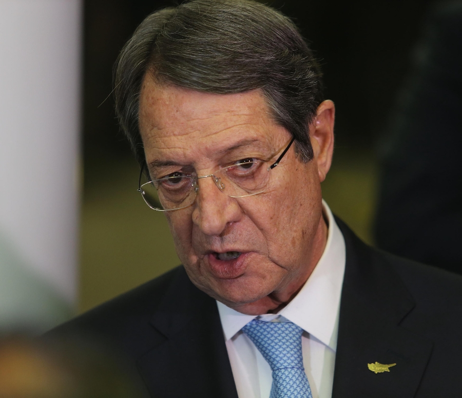 """Anastasiades from Crans Montana: """"Our proposal aimed at overcoming problems that are considered insurmountable"""""""