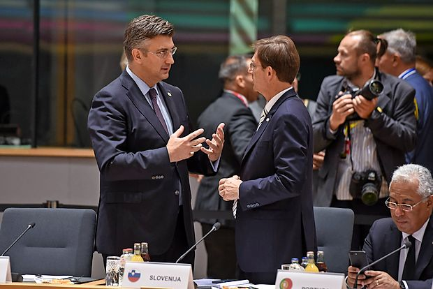 Prime ministers of Slovenia and Croatia to meet on 12th of July