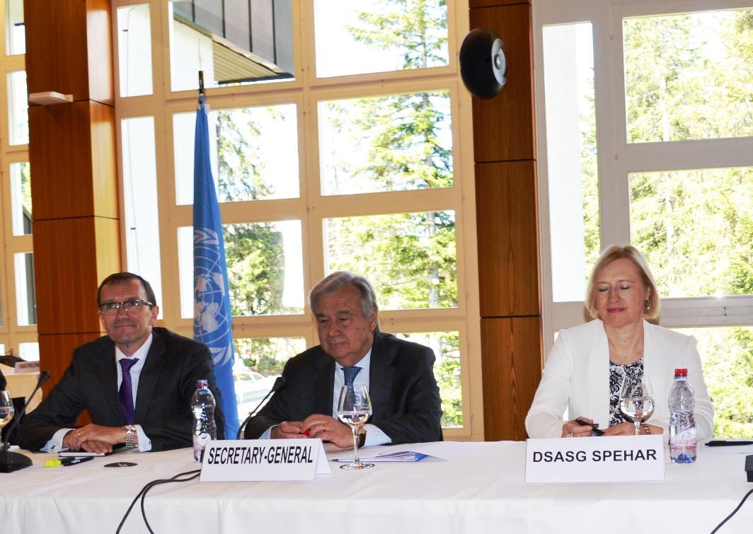 Guterres visit to Crans-Montana on Thursday may break deadlock