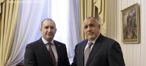 Bulgarian PM Borissov and President Radev in show of unity on military modernisation, anti-corruption and foreign policy