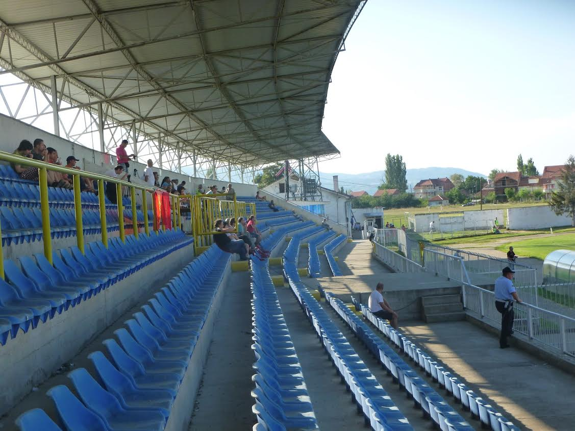 Strumica is getting ready for the match between FYROM and Albania