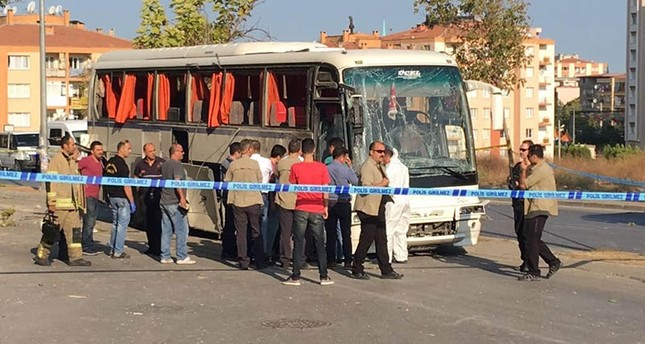 8 wounded after PKK terrorists detonate bomb in garbage container in Turkey's Izmir