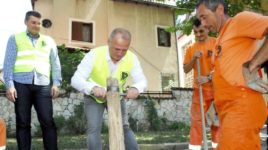 Belgrade under reconstruction ahead of elections