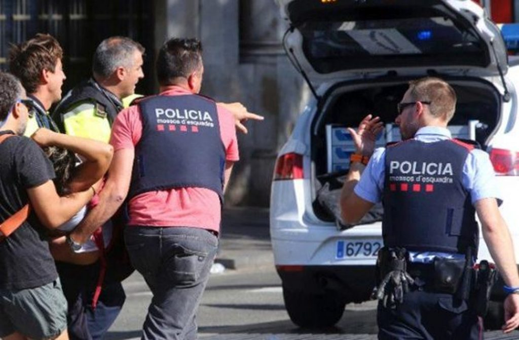 A national from FYROM remains wounded during the attacks in Barcelona
