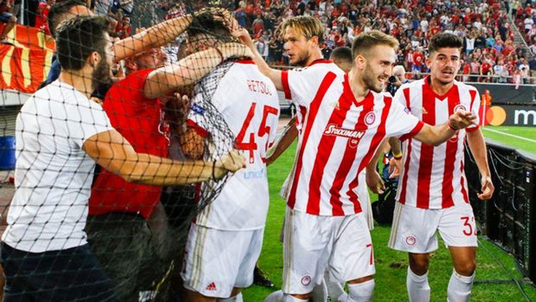 Olympiacos beat Rijeka 2-1