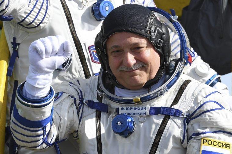 Cosmonaut Fyodor Yurchikhin Grammatikopoulos to make six-hour space walk