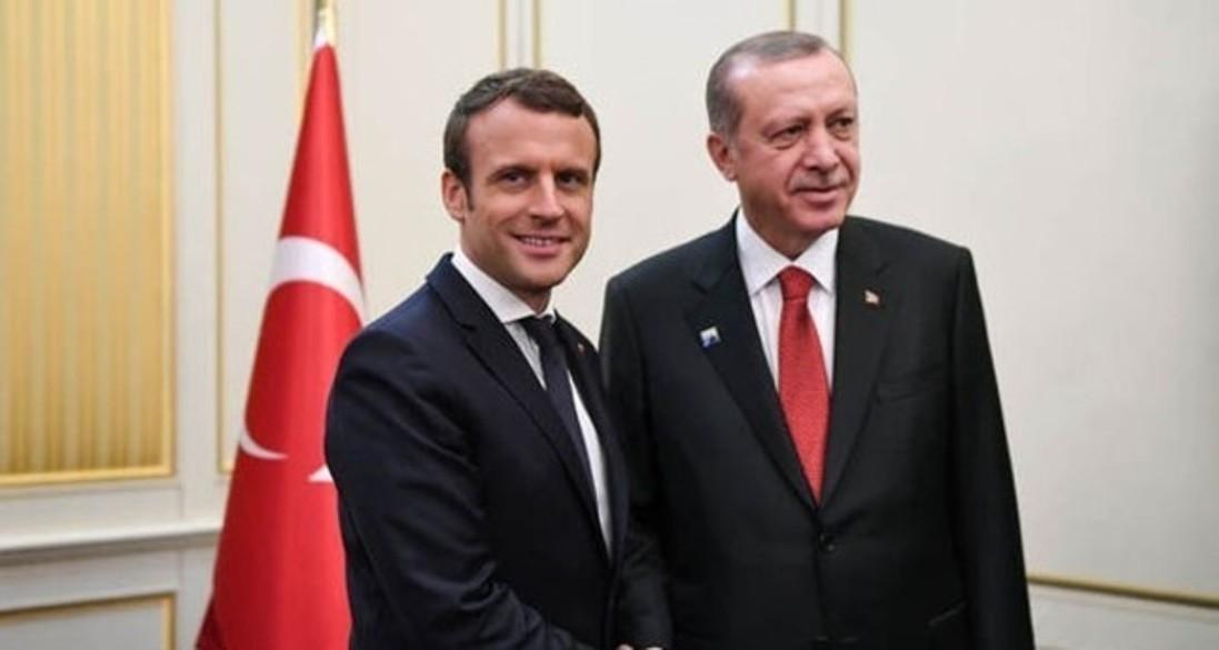 Erdoğan, Macron discuss developments in Syria and Iraq, counter-terror efforts