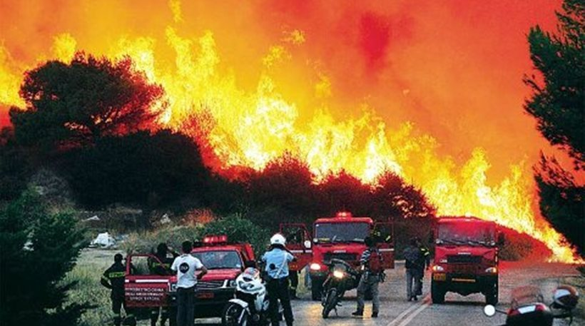 Cyprus will send 60 firefighters. 55 new wildfires in Greece in the last 24h.