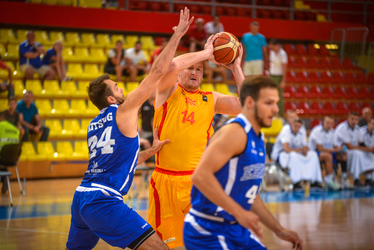 FYROM registers negative results in basketball
