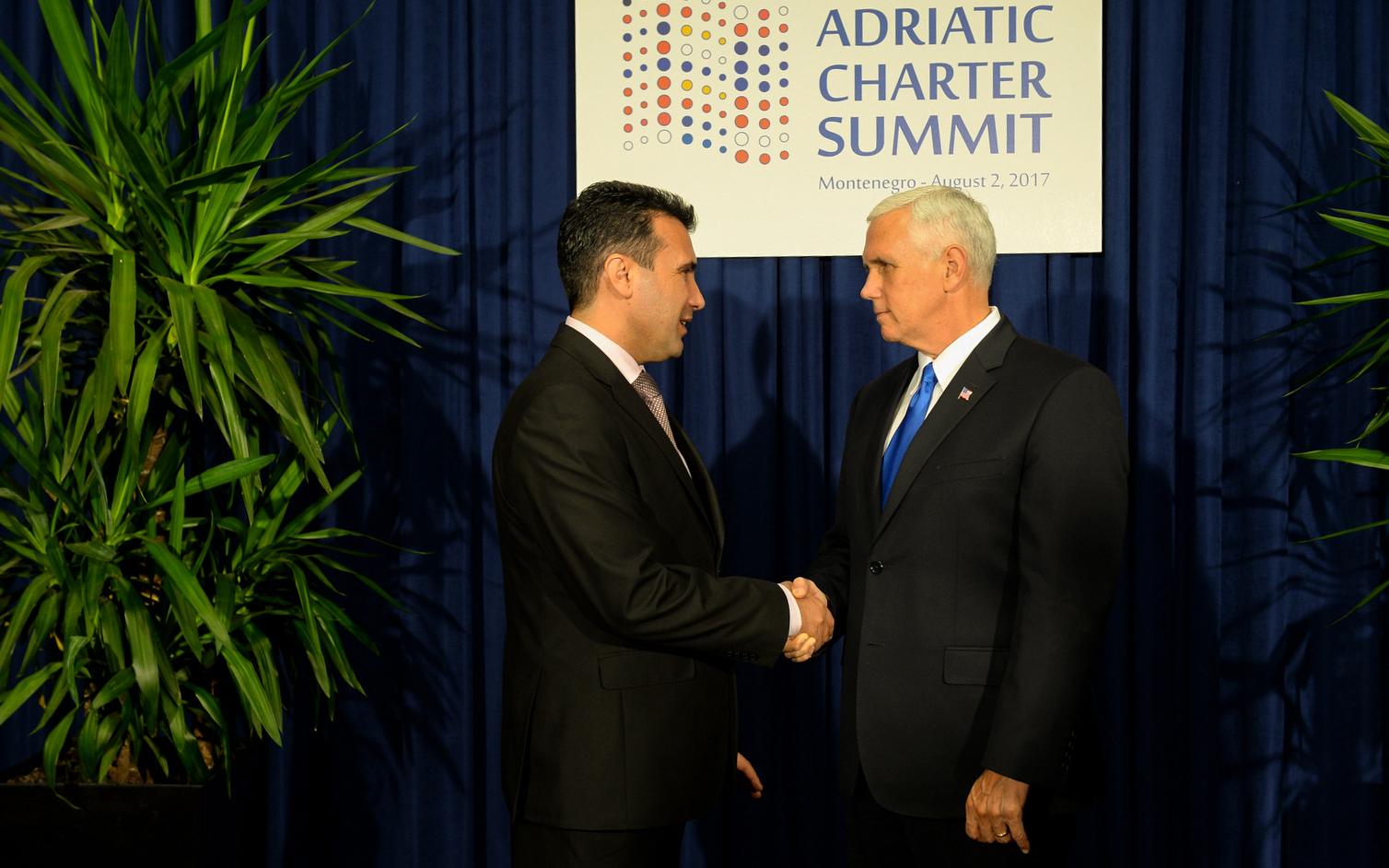ΠΓΔΜ: Ο Zoran Zaev μεταβαίνει στην Ουάσιγκτον για συνάντηση με τον Αντιπρόεδρο των ΗΠΑ, Mike Pence