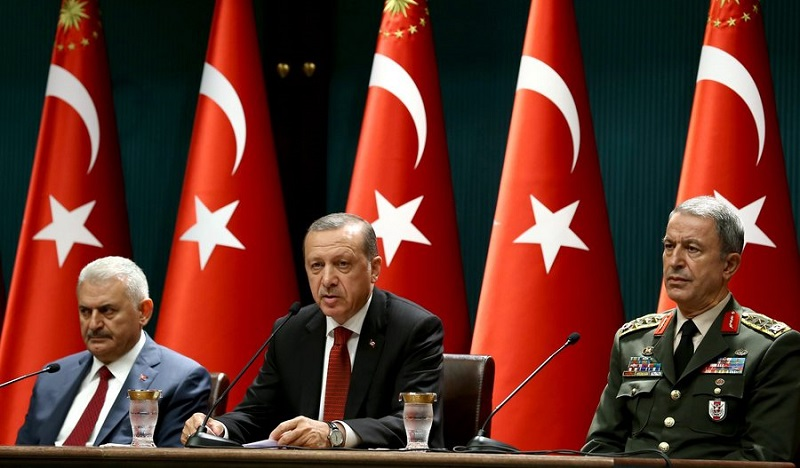 Major changes in the Turkish Armed Forces