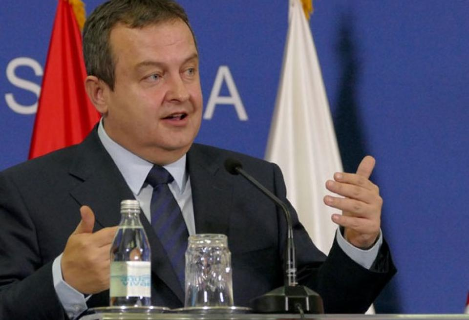 Dacic: Critics want to hand over the whole Kosovo to Albanians