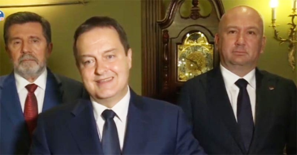 There's big anti-Russian hysteria in the West, Dacic says