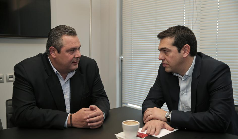 Syriza, ANEL come to understanding to avoid government crisis