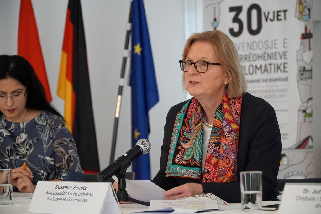 German ambassador to Albania considers judicial reform a success story