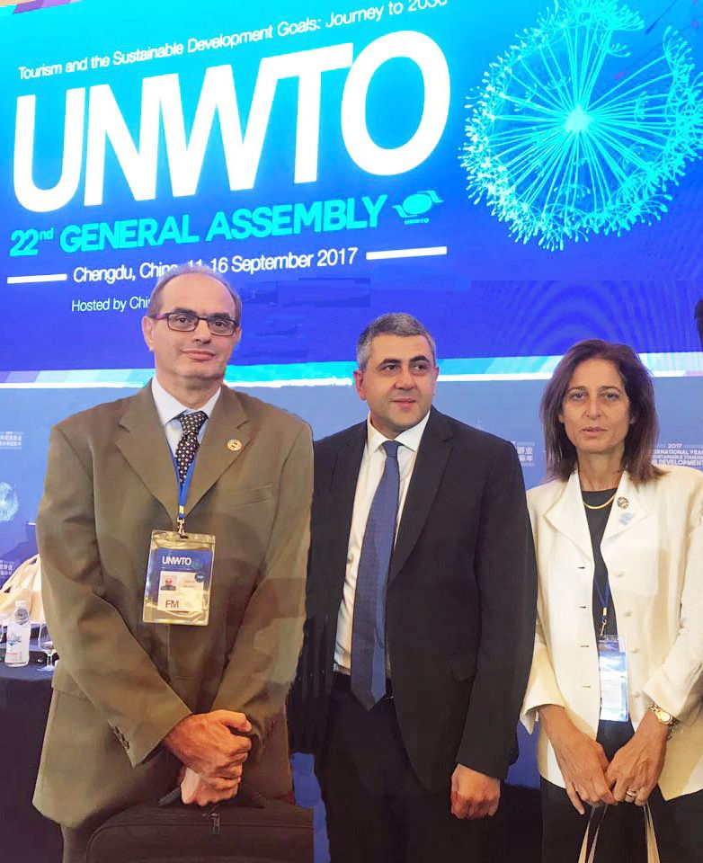 Cyprus Tourism Organisation participates in 22nd General Assembly of the World Tourism Organization