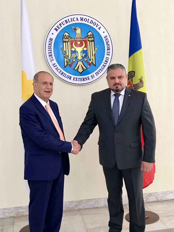 FM Kasoulides paid official visit to Moldova