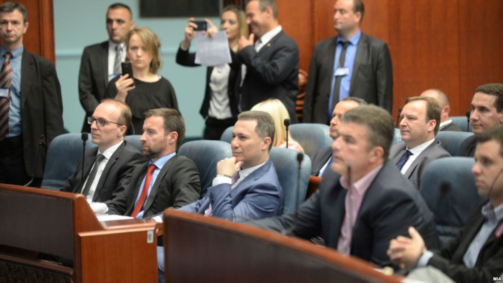 Gruevski's and his associates' assets may be seized