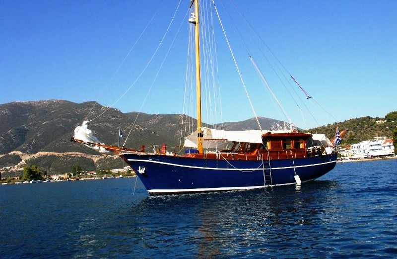 Turkey has forbade tourist ships with turkish flag to approach greek ports