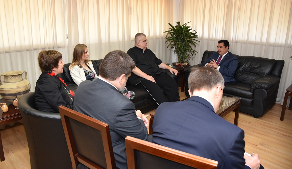 Cyprus' Defence Minister met with Delegation of the European Integration Committee of the National Assembly of Serbia