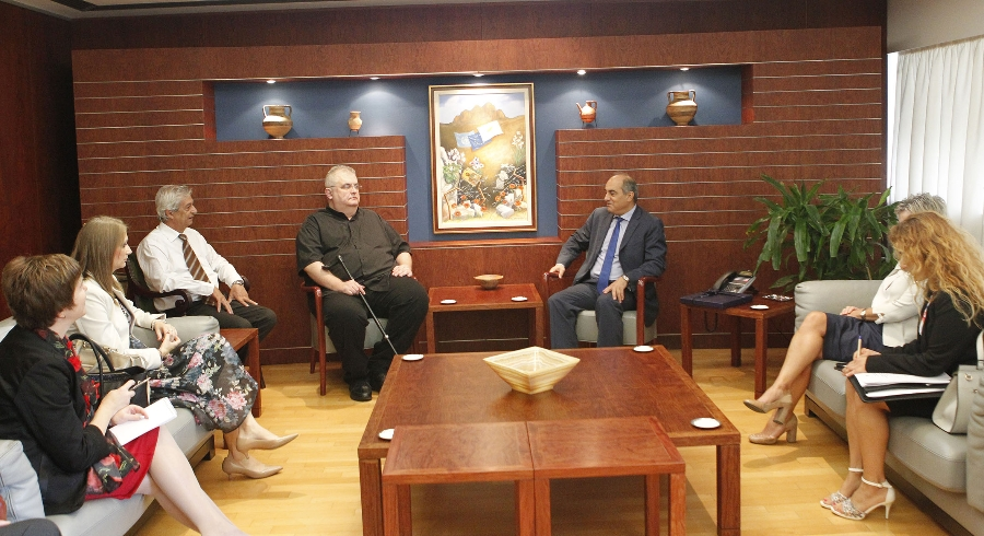 House President receives a delegation of the Committee for the EU integration of the National Assembly of Serbia