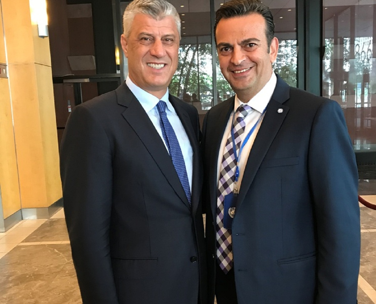 IBNA Interview with the President of Kosovo, Hashim Thaci
