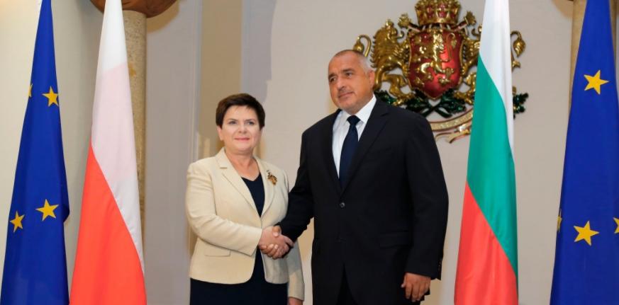 Meeting Polish PM, Bulgaria's Borissov repeats call for closing EU borders