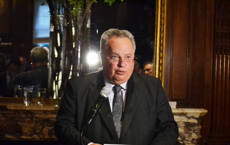 Speech by the Minister of FA of Greece Nikos Kotzias at the World Jewish Congress event.