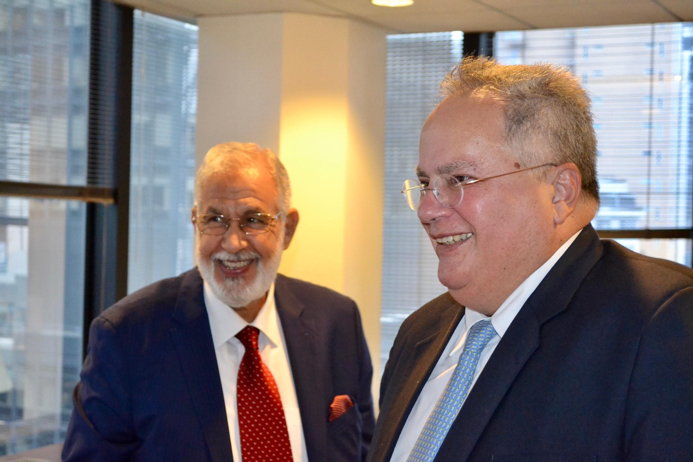 N. Kotzias has meeting with Libyan counterpart Mohamed Taha Siala in New York