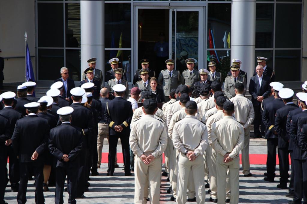 Albania sends the 6th contingent in the Aegean Sea
