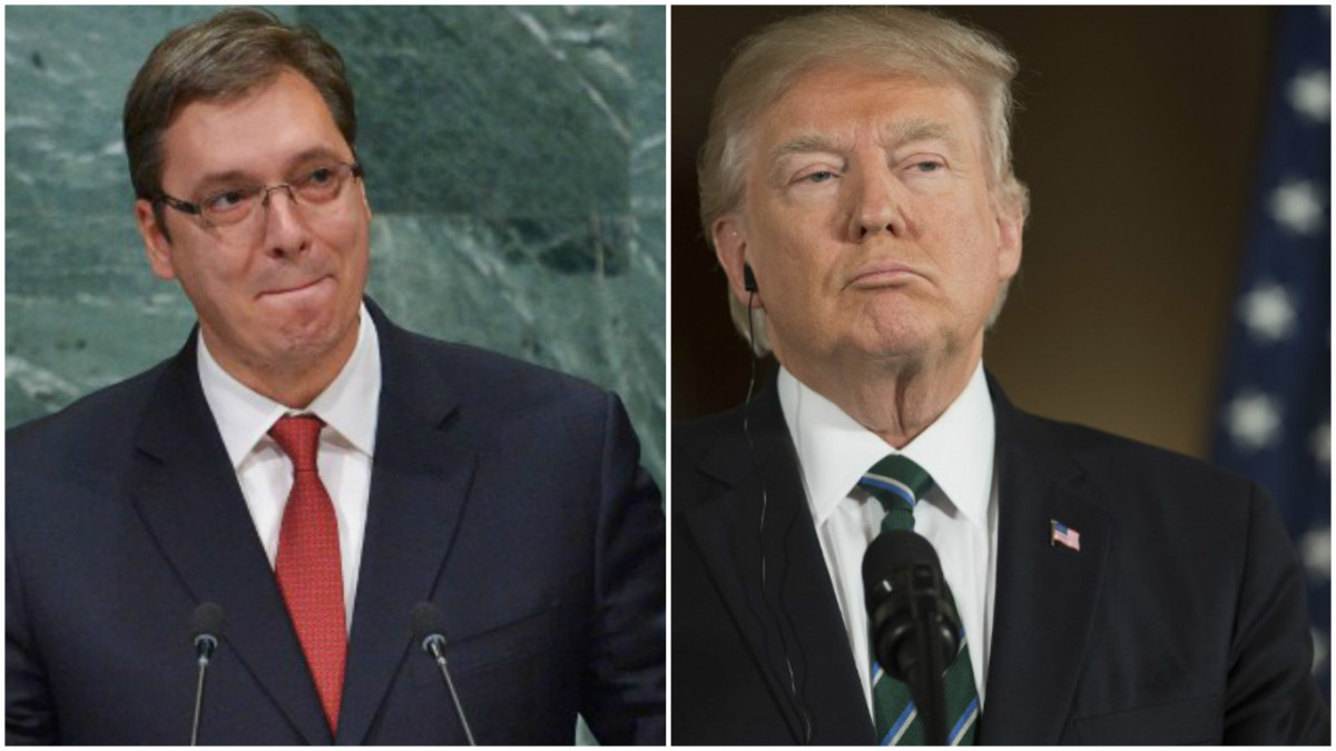 Vucic hopes to meet Tump in New York