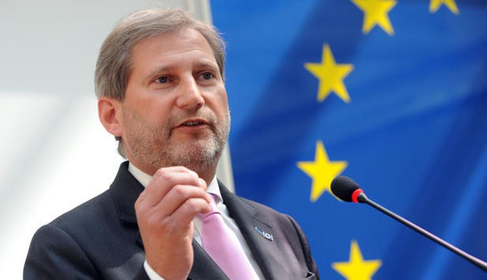 EU Commissioner Hahn is optimistic about Kosovo's visa liberalization