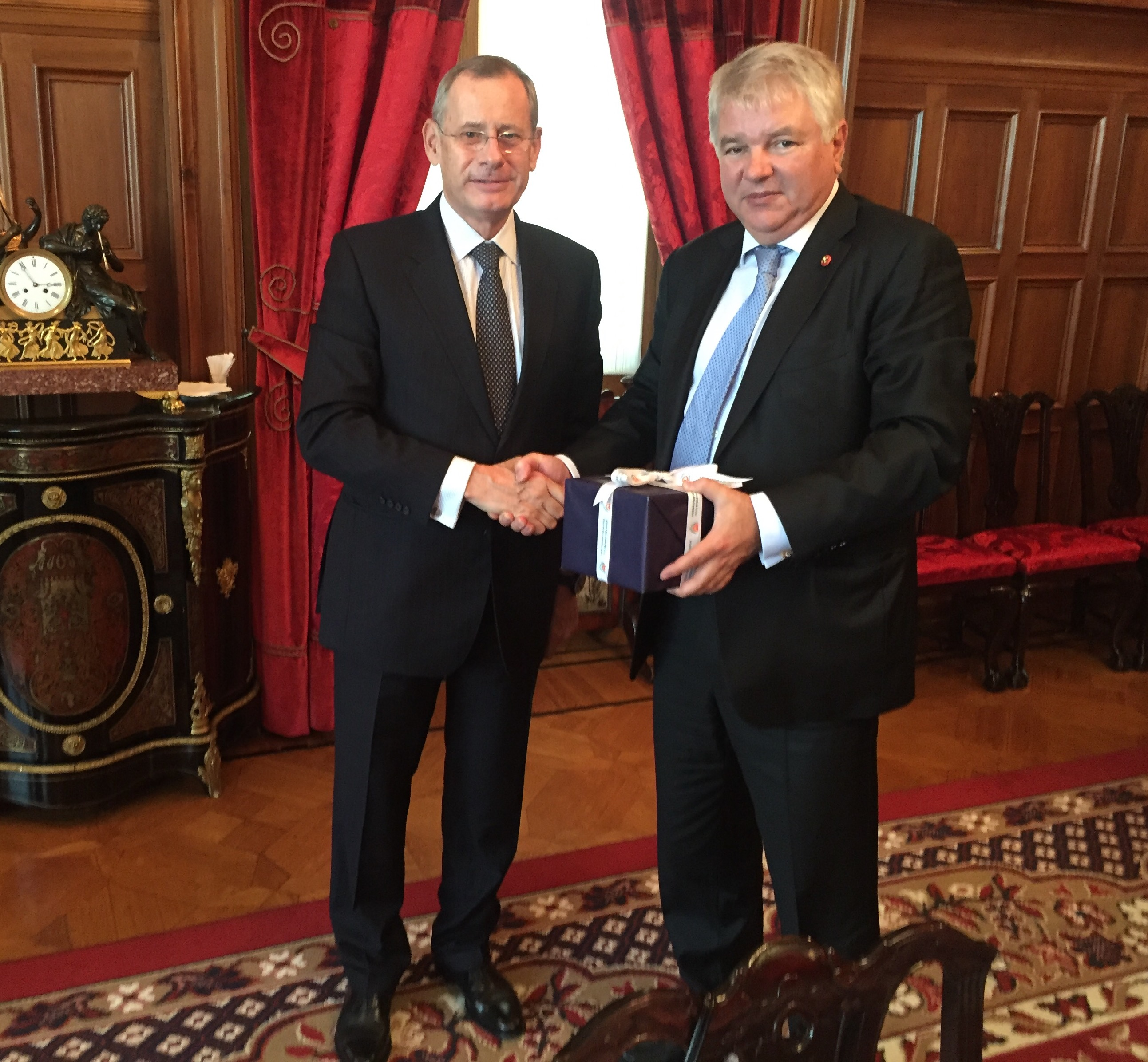 General Director of Cyprus Foreign Ministry visited Moscow