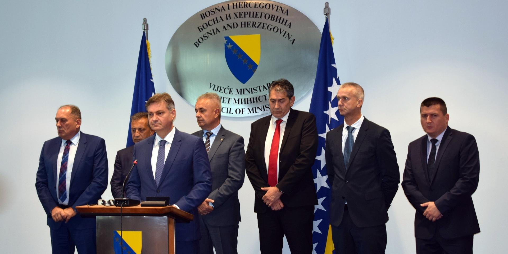 BiH is not a terrorist base, officials say