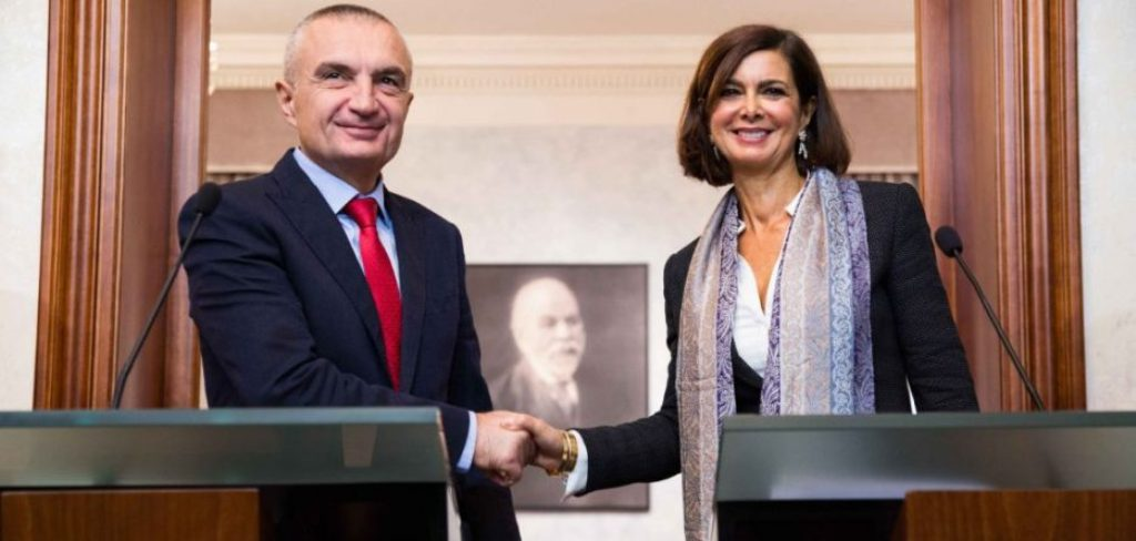Albanian President meets with Italian senior officials