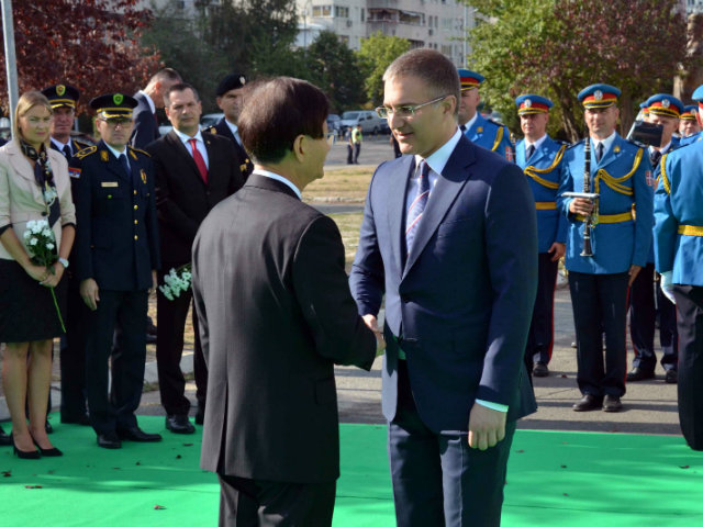 Serbia and China look to deepen security cooperation