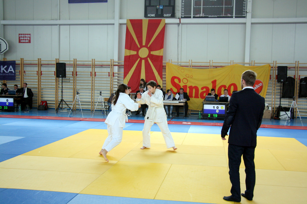Judokas from FYROM obtain three medals from the Balkan Championship