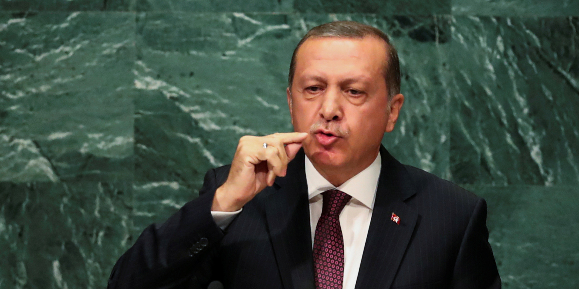 President Erdogan continues to accuse Europe