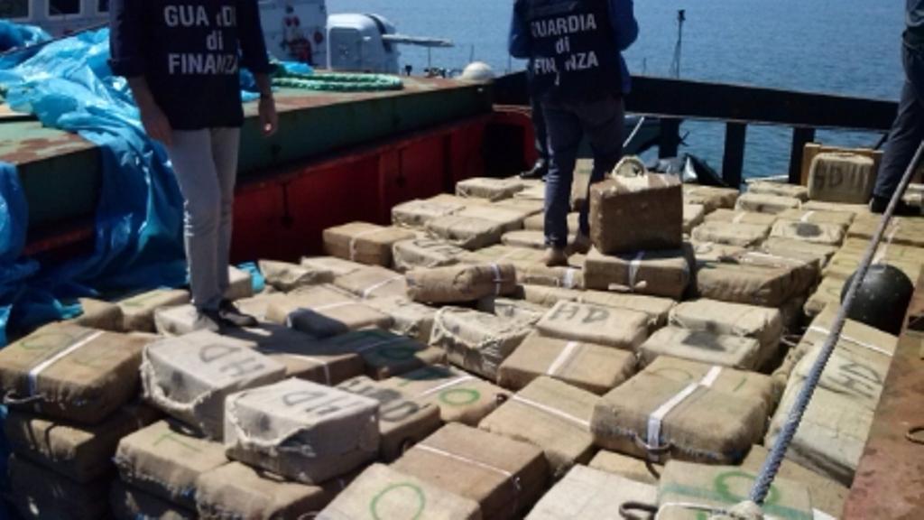 28 tons of marijuana headed to Italy seized this year
